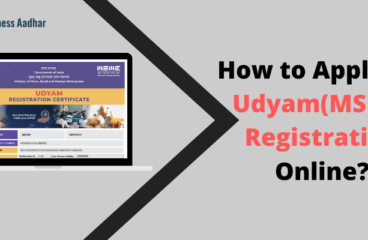 How to Apply for Udyam(MSME) Registration Online?