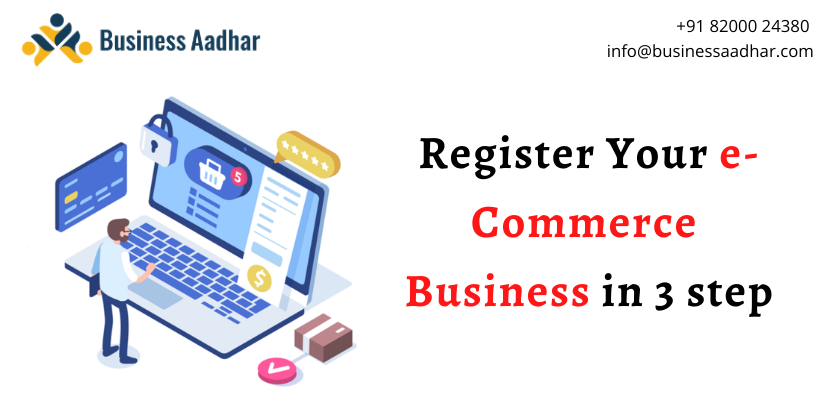 Register Your eCommerce Business in 3 step
